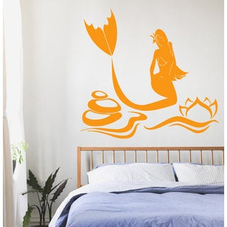 Vinyl Mermaid Sticker Wall Art