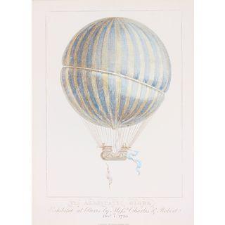 "Ariel Press's ""The Aerostatic Globe"" Printed Canvas"