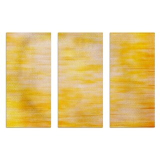 Burst Creative 'Pianoforte Triptych' Canvas Art