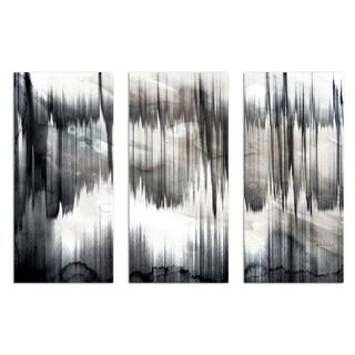 Burst Creative 'Pizzicato Triptych' Canvas Art