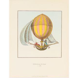 Globe Fait Pour Etre Dirige Balloon