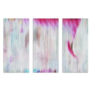 Burst Creative 'Vivace Triptych' Canvas Art