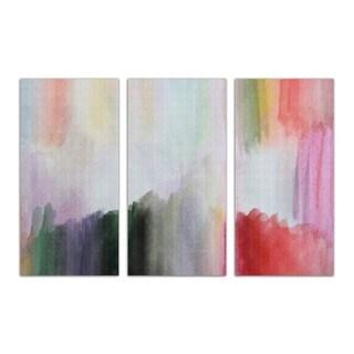 Burst Creative 'Anona Triptych' Canvas Art