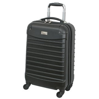 Geoffrey Beene 20-inch Carry On Hardside Spinner Upright Suitcase