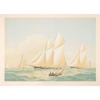 Atlantic Y.C. Regatta 1887, Cozzens