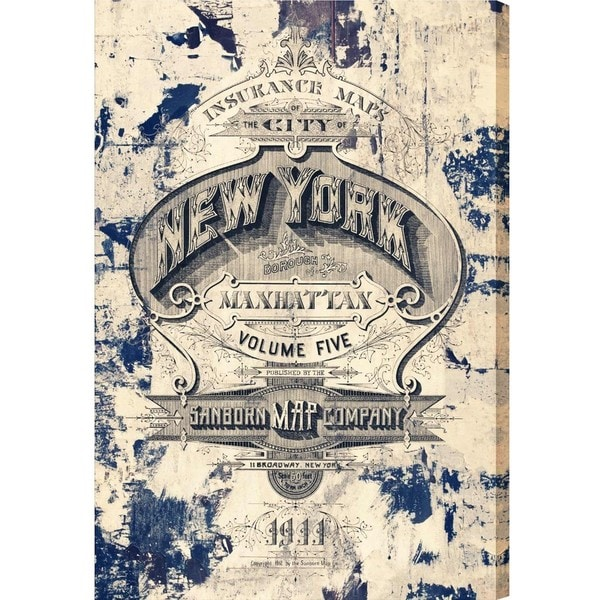 Burst Creative 'New York Insurance' Canvas Art