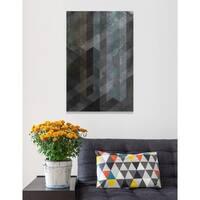 Burst Creative 'Steel' Canvas Art