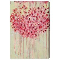 Burst Creative 'Flor' Canvas Art