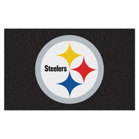 "FANMATS NFL - Pittsburgh Steelers Ulti-Mat 59.5""x94.5"""