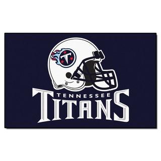 Fanmats Tennessee Titans Blue Nylon Area Rug 5 X 8