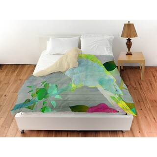 Collage Parrot Duvet Cover