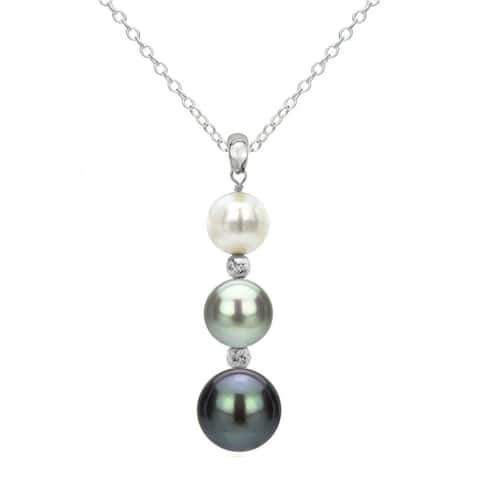 e364ad0de09e4 Buy Multi Color Pearl Necklaces Online at Overstock | Our Best ...