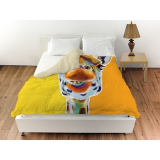 Giraffe No 3 Duvet Cover