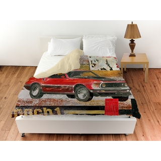 Thumbprintz Muscle Cars I Duvet Cover