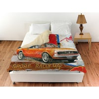 Shop Muscle Cars I Duvet Cover On Sale Free Shipping Today