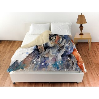 Horned Owl Duvet Cover