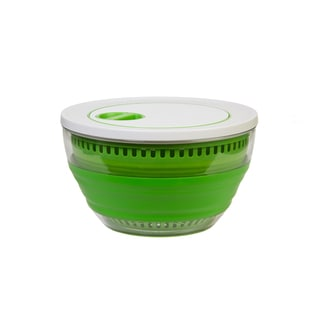 Progressive International Prepworks Collapsible Salad Spinner, 3-Quart, Green