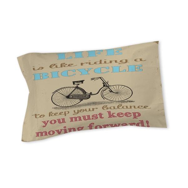 Life Bicycle Sham