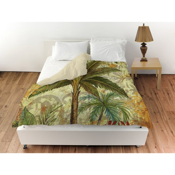 Palms Pattern III Duvet Cover
