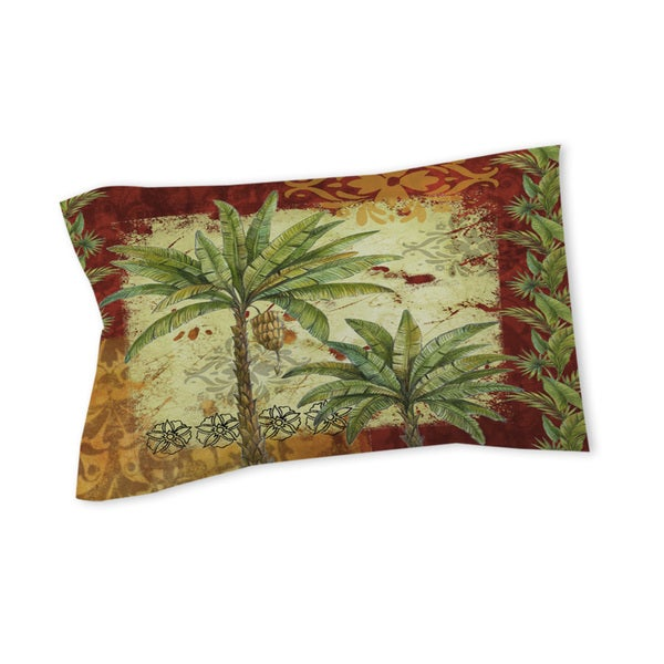 Palms Pattern V Sham
