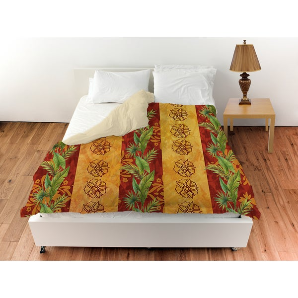 Palms Pattern VII Duvet Cover