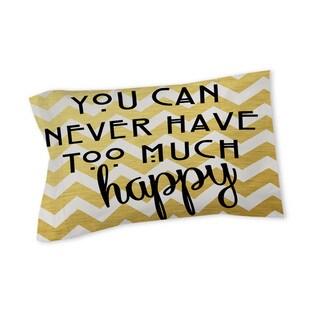 Thumbprintz Never Too Much Happy II Sham