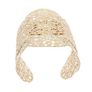 NEXTE Jewelry Latin Filigree Look Goldtone Fashion Bangle Bracelet