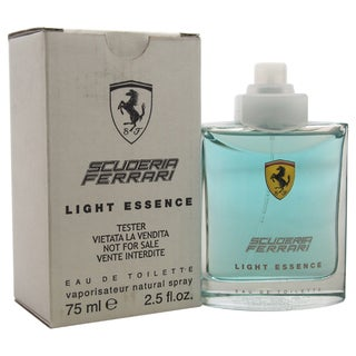Ferrari Scuderia Light Essence Men's 2.5-ounce Eau de Toilette Spray (Tester)