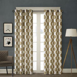 Madison Park Miki Printed Dot Window Curtain Panel|https://ak1.ostkcdn.com/images/products/10112170/P17251886.jpg?impolicy=medium