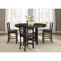 Bistro Transitional Oval 5-piece Gathering Set