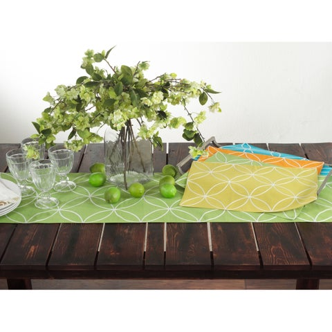 Stitched Tile Design Placemat - set of 4