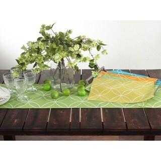 Stitched Tile Design Placemat - set of 4