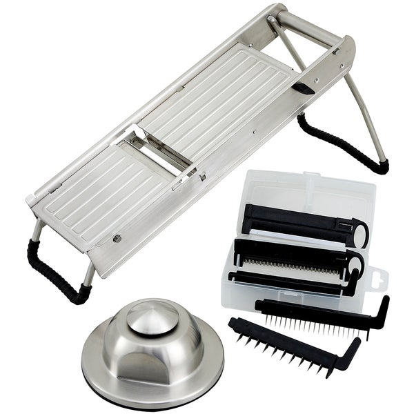 Winco Mandoline Slicer With Hand Guard Free Shipping Today 17251971