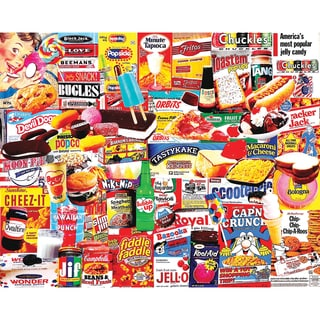 Jigsaw Puzzle 1000 Pieces 24inX30inThings I Ate As A Kid