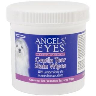 Angels' Eyes Gentle Tear Stain Wipes 100/Pkg