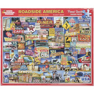 Jigsaw Puzzle 1000 Pieces 24inX30inRoadside America|https://ak1.ostkcdn.com/images/products/10112517/P17252145.jpg?impolicy=medium