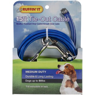Medium Duty Cable Tie Out 15ft