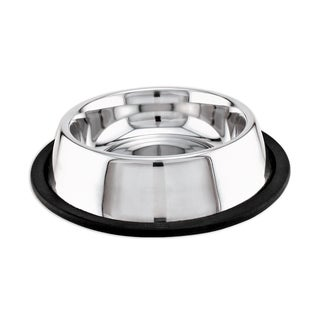 Stainless Steel NonSkid Dish 16oz