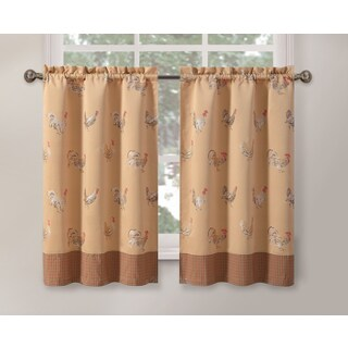 Rooster Gold 24-inch Tier Pair