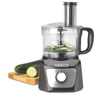 Nesco FP-800 Black 8-cup Food Processor