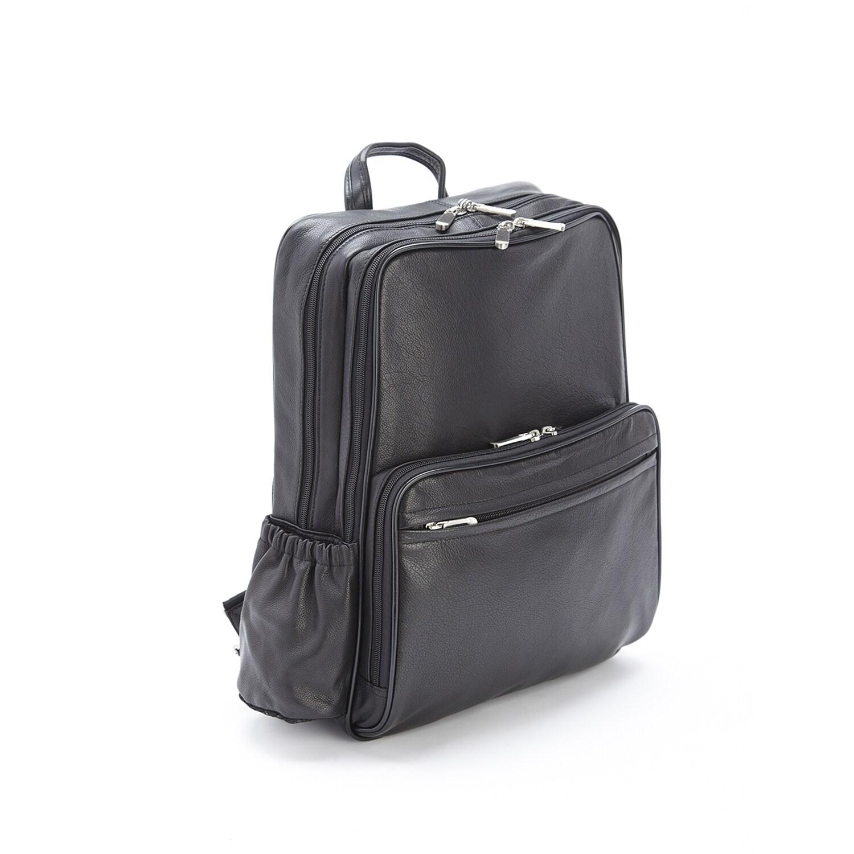 Royce Leather Full Grain Cowhide 13-inch Laptop Backpack ...