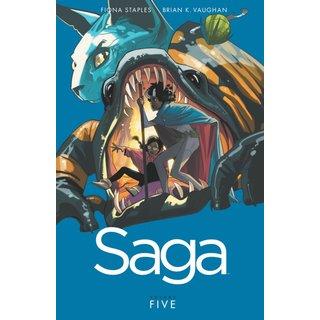 Saga 5 (Paperback)