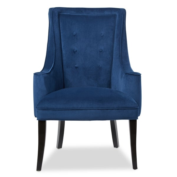 Murano Navy Accent Chair   Free Shipping Today   Overstock.com   17248136