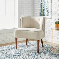 Maison Rouge Sierra Off White Accent Chair