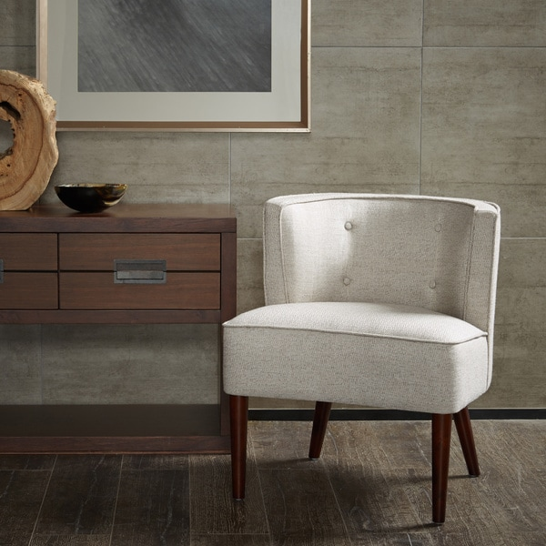 Sierra Off White Accent Chair Free Shipping Today