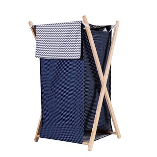 Trend Lab Perfectly Navy Hamper Set