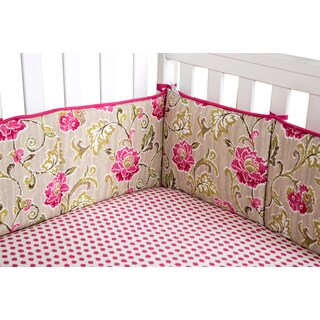 Trend Lab Waverly Jazzberry Crib Bumpers