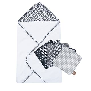Trend Lab Ombre Gray Bouquet Hooded Towel and Wash Cloth Set|https://ak1.ostkcdn.com/images/products/10115978/P17255284.jpg?impolicy=medium