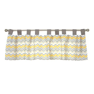Trend Lab Buttercup Zigzag Window Curtain Valance