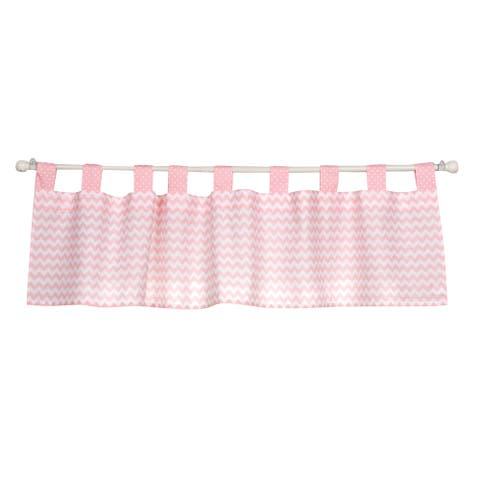 Trend Lab Pink Sky Window Curtain Valance
